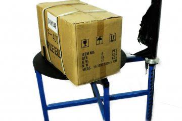 Ręczna z manualnym podnoszeniem rolki pakującej